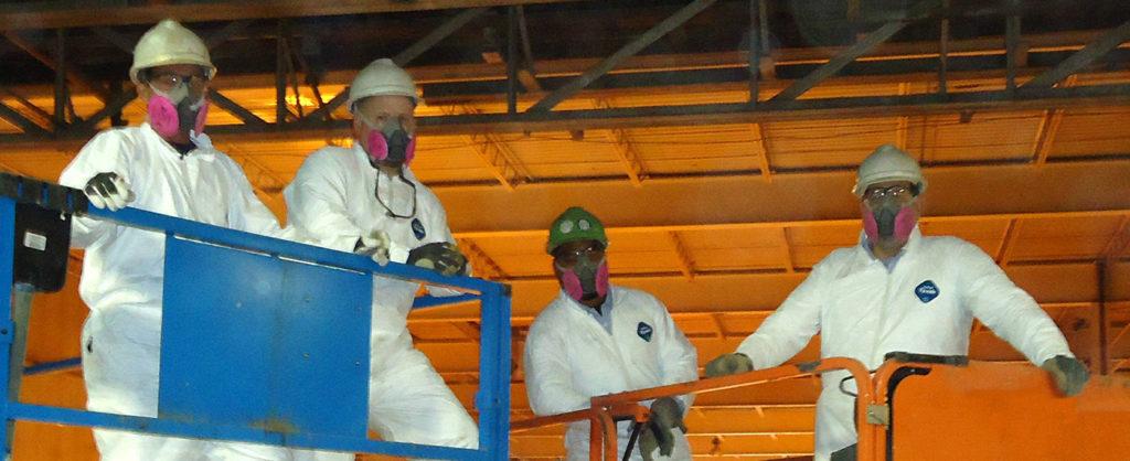 CFPC team in safety gear
